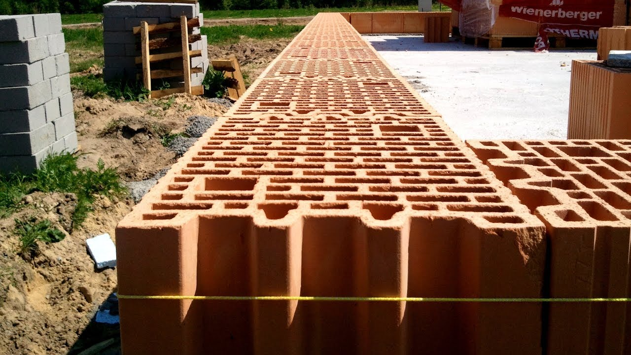 Building a house step by step full hd day 16 bricklaying for Building a house step by step