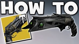 Destiny 2 - HOW TO GET YEAR 3 THORN EASY !!
