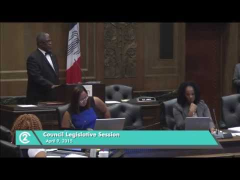 Mayor Sly James' Floor Speech Regarding KCMO Vehicle for Hire Ordinance