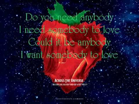 With A Little Help From My Friends - Jim Sturgess and Joe Anderson {Lyrics}