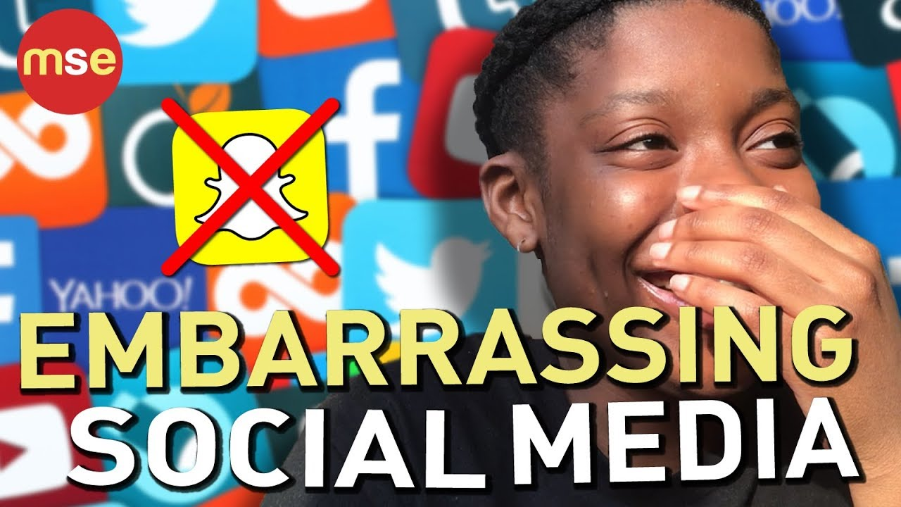 Embarrassing Social Media | Family | Friends | Parents | Blocking Family |  Year 9 to Year 13