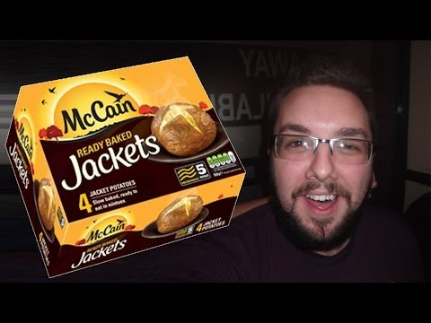 Mccain jacket potato microwave cooking time