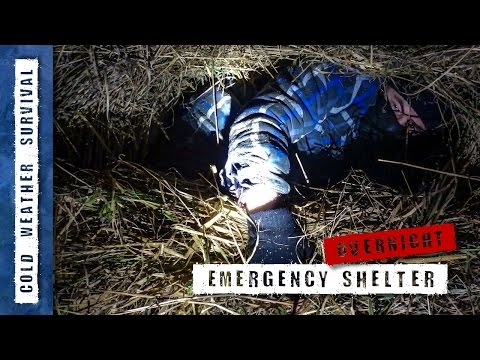 Winter Emergency Shelter - cold weather survival