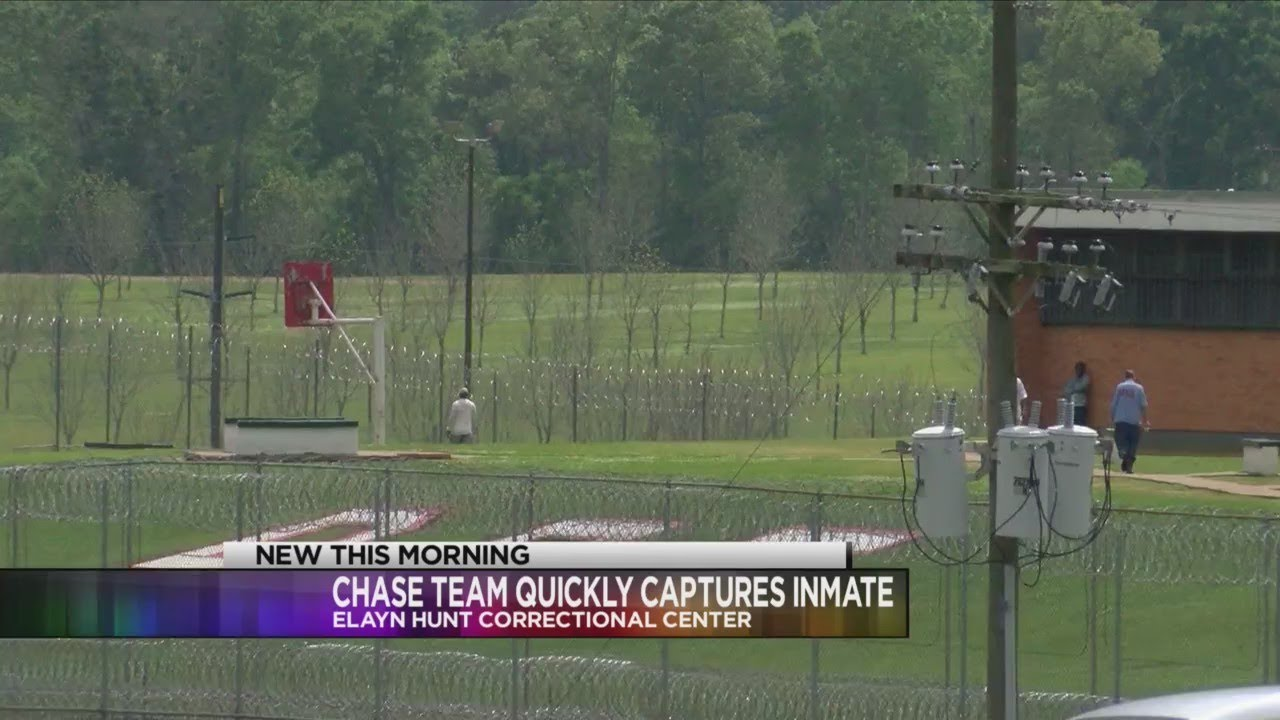 Short-lived escape for Elayn Hunt Correctional Center inmate