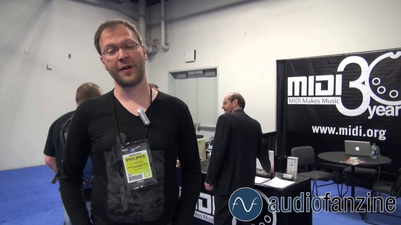 Audiofanzine En Direct Du Namm Youtube