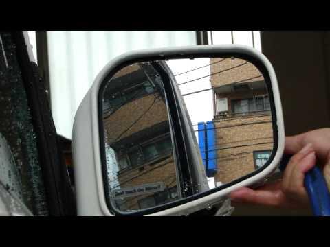 Тест Glaco Mirror Coat Zero Soft99 - антидождь для зеркал
