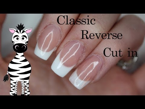Sculpted French Tips 3 Ways Acrylic Nail Art Tutorial | Classic, Reverse, and Cut In thumbnail