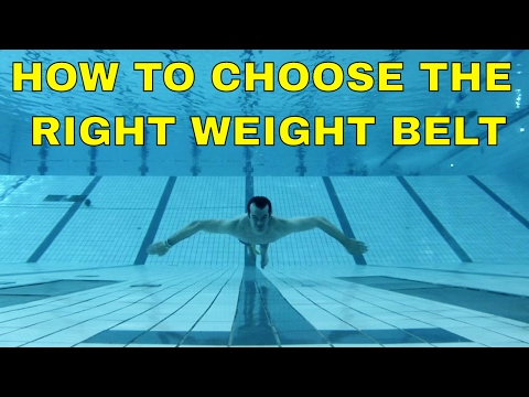 3 Tips On Choosing  The Right Weight Belt For Freediving