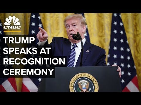 WATCH LIVE: President Trump participates in presidential recognition ceremony - 5/1/2020