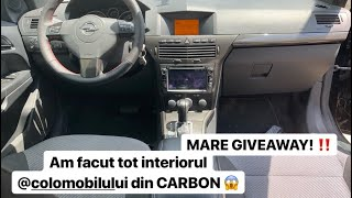 MI-AM FACUT INTERIORUL DE CARBON - AM DEMONTAT TOATA MASINA!!!