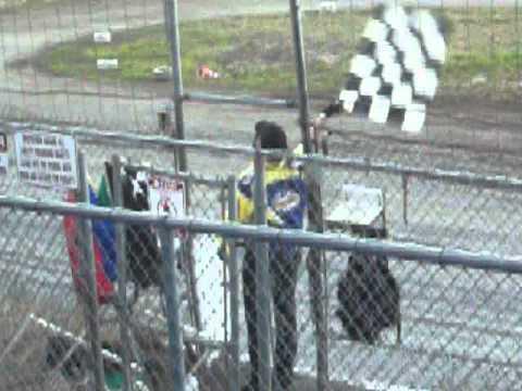 Santa Maria Speedway Flagman