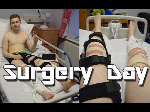 My ACL Story | Part 2 | Surgery Day!