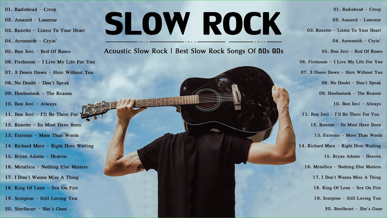 Acoustic Slow Rock Collection | Best Slow Rock Songs Of 80s 90s | Slow Rock Playlist
