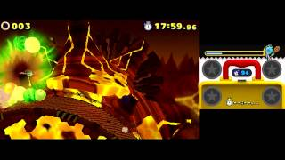 Sonic Lost World 3DS [Part 28] (Lava Mountain - Zone 3)