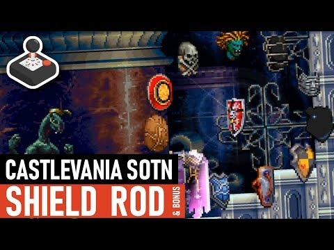 Castlevania SotN - Shield Rod Spells & Unique Swords
