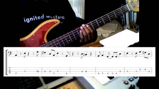 Скачать Spain Bass Lesson With Tab And Notation