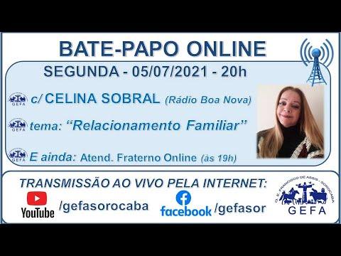 Assista: Palestra online - c/ CELINA SOBRAL (05/07/2021)