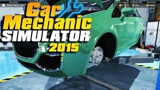Pierwsze wrażenia | Car Mechanic Simulator 2015