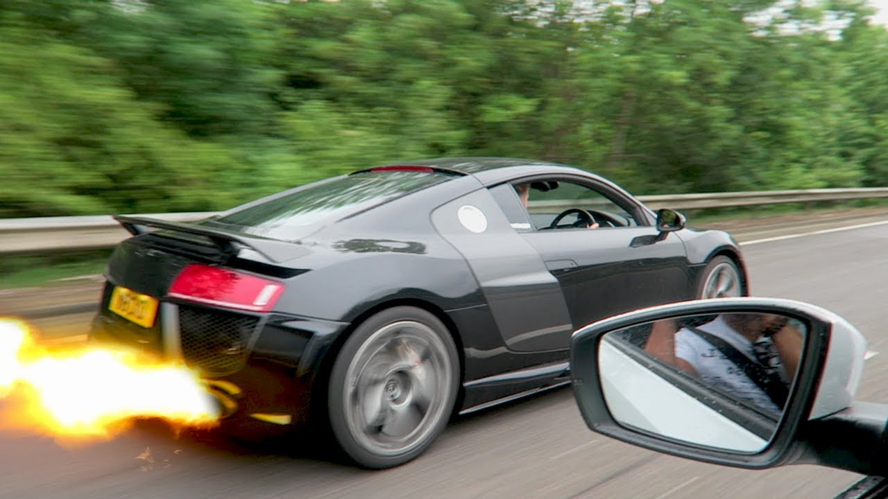 WHY DID I GET A MODIFIED AUDI R8? - YouTube