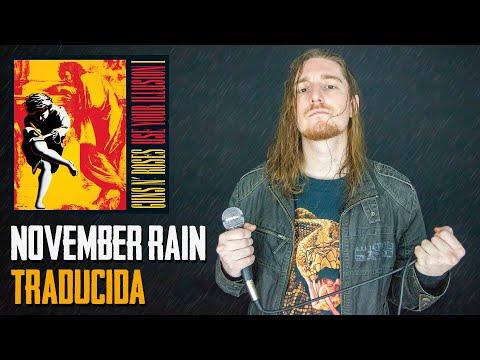 ¿Cómo sonaría NOVEMBER RAIN – GUNS N' ROSES en Español?