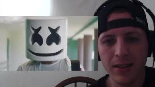 Marshmello   Blocks Official Music Video REACTION