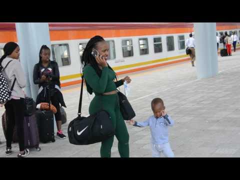 SGR Mombasa Terminal: Alighting