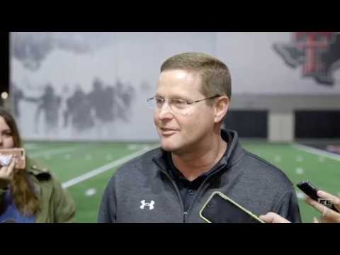 Texas Tech Football: Kirby Hocutt Announces Matt Wells as New Head Coach | 2018