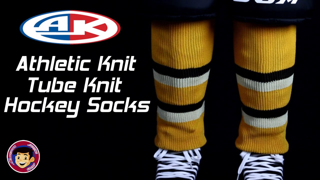 Athletic Knit Hockey Socks - Homegrown Sporting Goods - YouTube