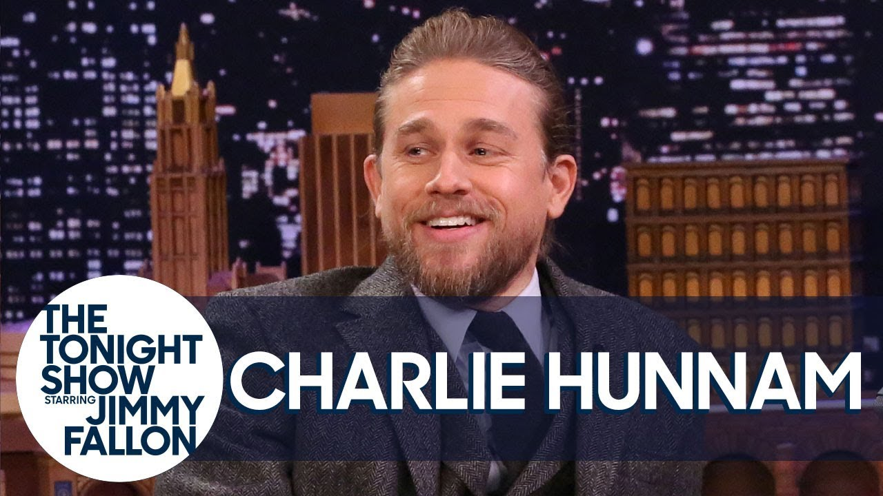 Charlie Hunnam Sprinted Naked Through a Forest to Escape a Wasp Attack