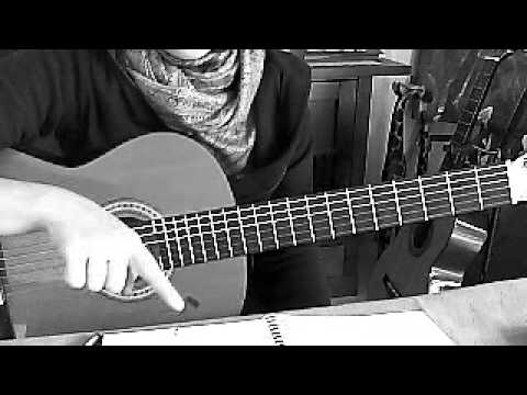 how to play sinking deep on guitar
