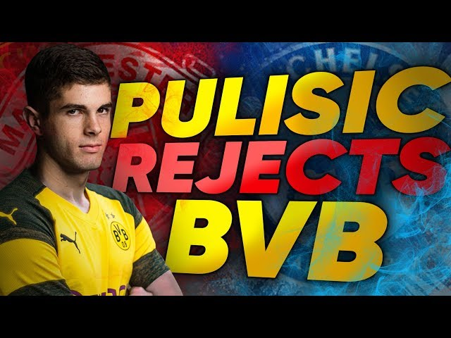 Manchester United & Chelsea Target Pulisic REJECTS New Contract From Dortmund! | Transfer Review