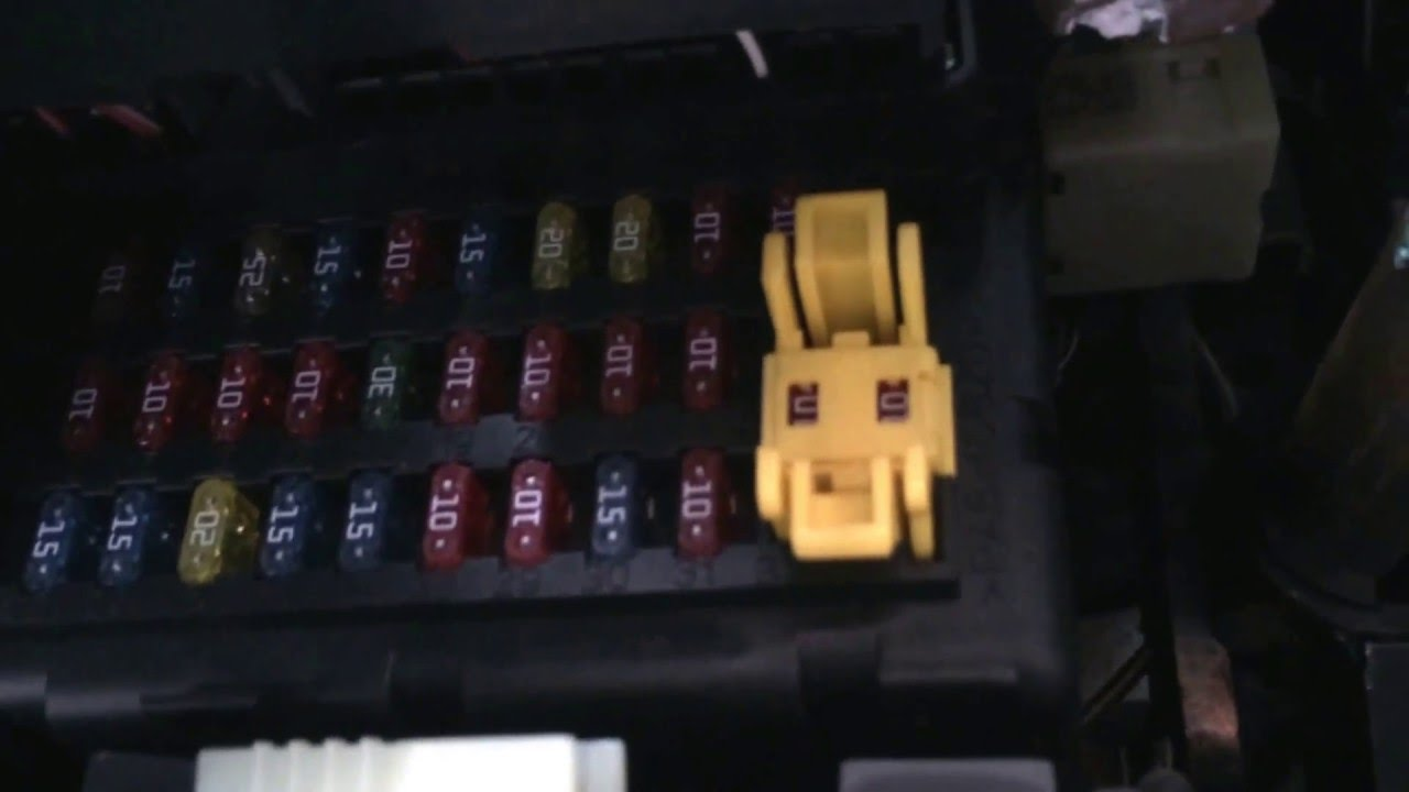 2002 Jeep Grand Cherokee Fuse Box Location