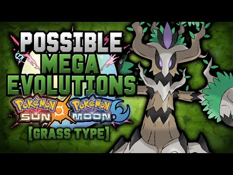 New Mega Evolutions In Pokemon Sun And Moon [Grass Type]