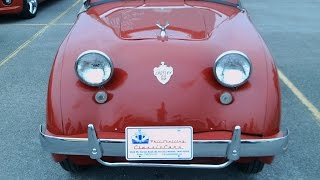 1952 Crosley Super Sport Convertible Red ZH022114