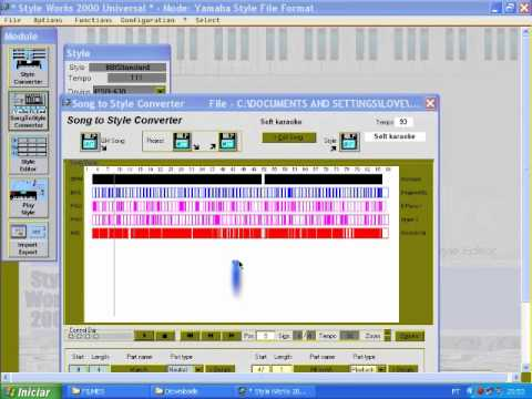 MIDI FILE CONVERTER FOR RHYTHM STYLE.-CONVERTE MIDI FILES PARA RITMOS STYLE  DE TECLADOS