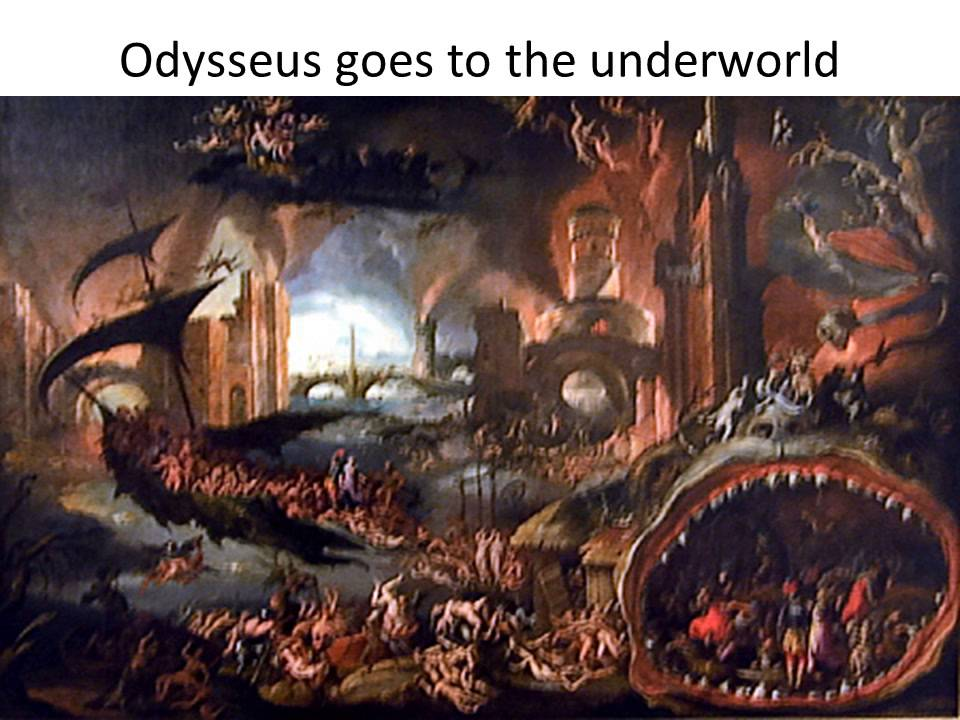 What was the first adventure of Odysseus?
