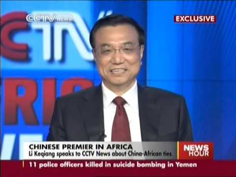 Li Keqiang speaks to CCTV News about China African ties 1