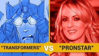 TRANSFORMERS VS PRONSTAR - Google Trends Show