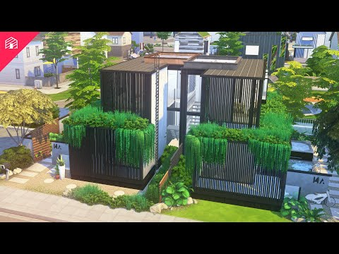 Evergreen Duplex | The Sims 4: Eco Lifestyle