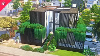 Evergreen Duplex   The Sims 4: Eco Lifestyle