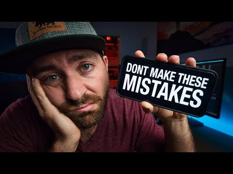 Top 20 MISTAKES New YOUTUBERS Make