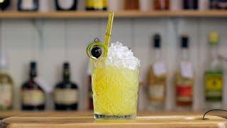 SATURN - a Passionfruit Tiki Cocktail
