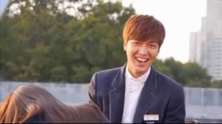 Lee min ho park shin hye funny moment Heirs 상속자들 Special Making