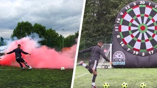 SMOKEBOMB CROSSBAR + EPIC KICK-DARTS CHALLENGE