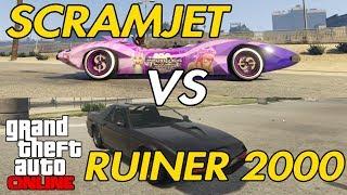 GTA ONLINE - SCRAMJET VS RUINER 2000!!!