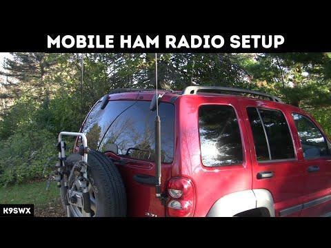 K9SWX - Mobile Ham Radio Setup