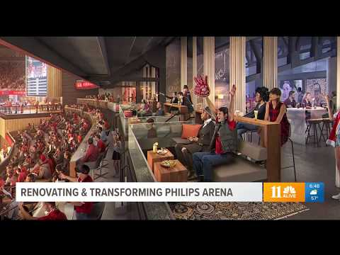 #LightsCameraAtlanta Newly Renovated Philips Arena Becomes Entertainment Hub Of ATL