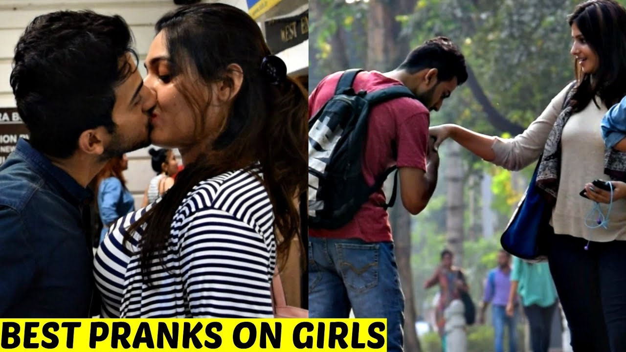 Best Pranks On Girls 2017 Pranks In India By Vinay Thakur Avrpranktv