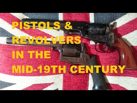 Pistols & revolvers in the Crimean War & Indian Mutiny (Adams & Colt)