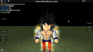 ALLE FORMS Teil 2/ Roblox DBZ Zoll